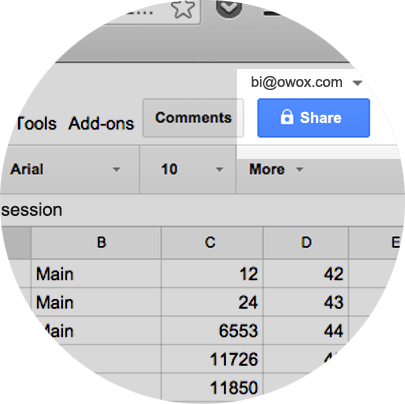 Google BigQuery to Google Sheets – Data Import | OWOX BI