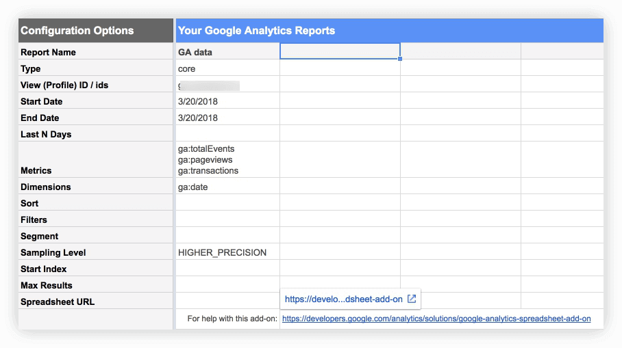 The Google Analytics Spreadsheets add-on allows you to extract unsampled or less sampled data for a chosen set of dimensions and metrics.